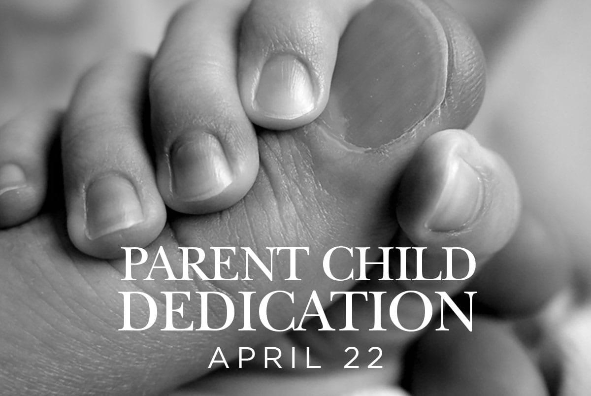 Parent Child Dedication Slide
