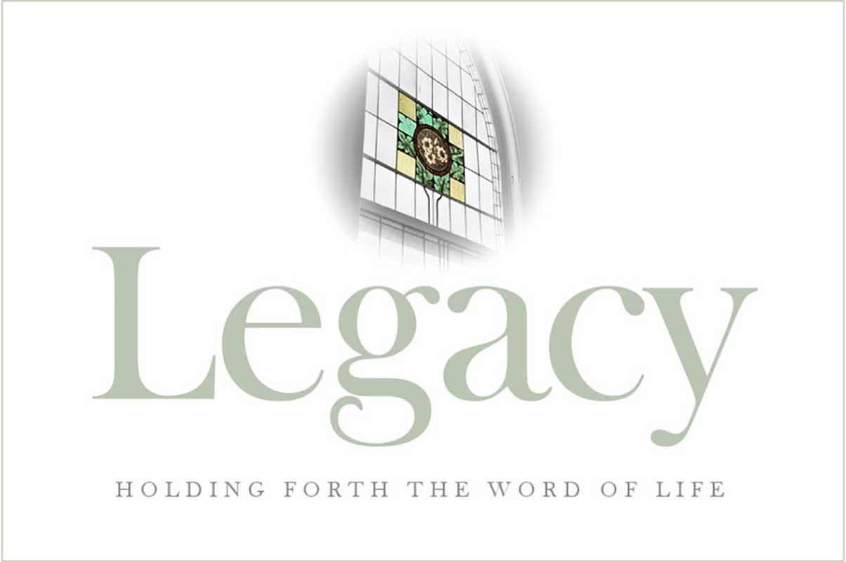 legacy sermon series